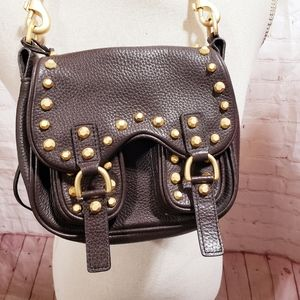 Alexis Hudson Studded Mini Shoulder Bag
